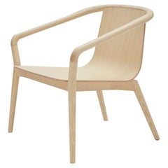 SP01 Thomas Armchair in Natural Ash, Made in Italy