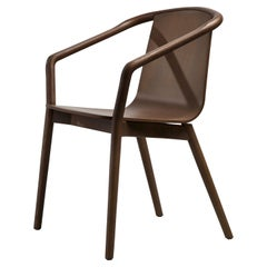 SP01 Thomas Chair in Walnut Stained Ash, Made in Italy