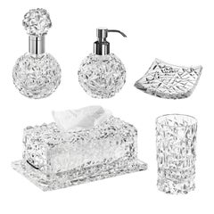 Spa Sinfonia Set of 5 Bathroom Pieces by Mario Cioni