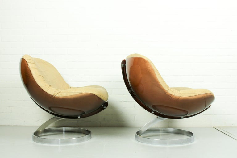 French Space Age Armchairs