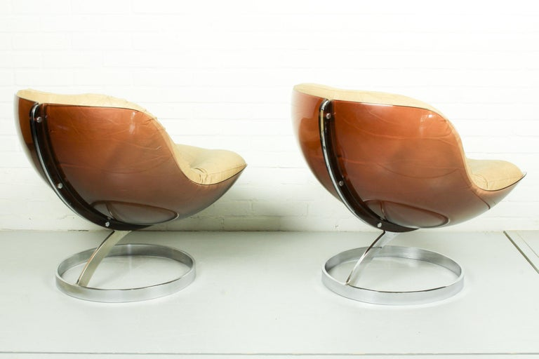 Late 20th Century Space Age Armchairs