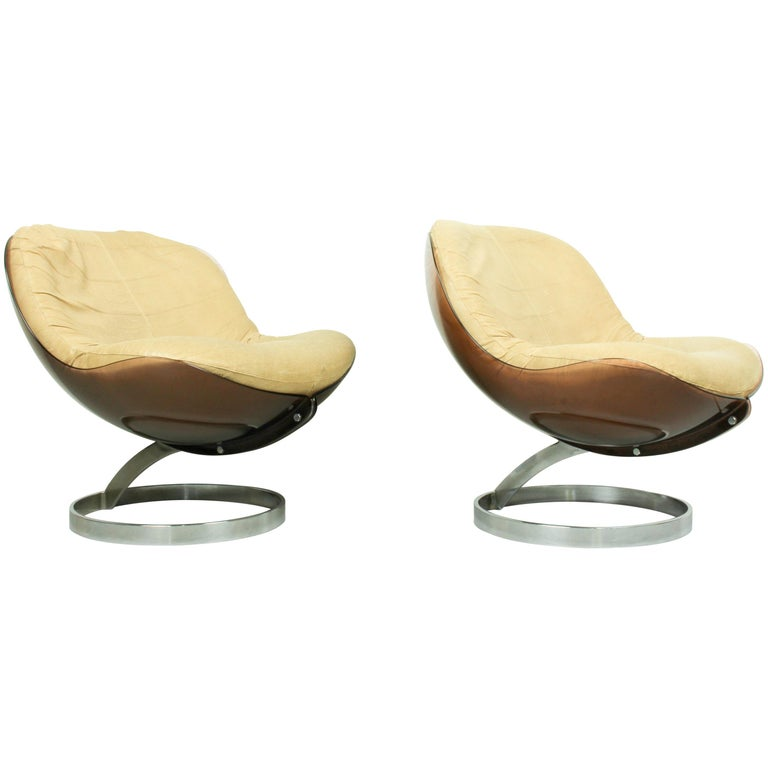"""Space Age Armchairs """"Sphere"""" Designed for MMM, 1971"""