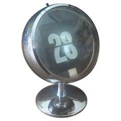 Space Age Atomic Perpetual Flip Date Calendar