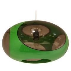 Space Age 'Bug Eye' Pendant Light, 1960s, Ufo Pendant Light, Vintage Pendant l