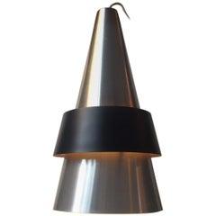 Space Age Ceiling Lamp Corona by Jo Hammerborg, Fog & Mørup, 1960s