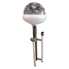 Space Age Floor Lamp with Ashtray, Italy, 1960s