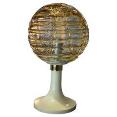 Space Age Glas bubble Doria table lamp, 1970s