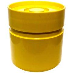Space Age Heller Ware Ice Bucket Designed by Sergio Asti