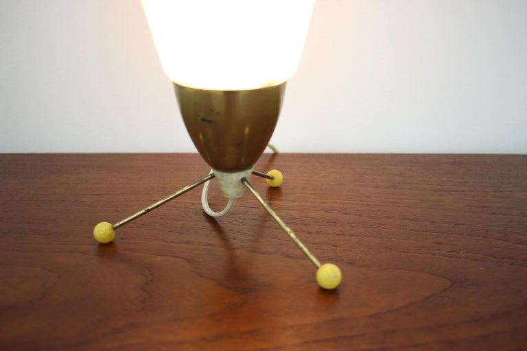 Mid-20th Century Space Age Midcentury Table Lamp
