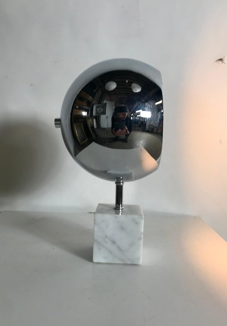 Space Age, Modernist Chrome and Marble