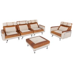 Space Age Modular Sofa in Original Upholstery