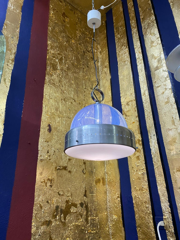 Space Age Pendant Light in Murano Glass, Italy, 1960s For Sale 11