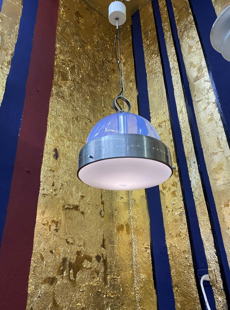 Space Age Pendant Light in Murano Glass, Italy, 1960s For Sale 12