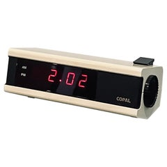 Space Age Rare Alarm Clock by Copal Japan