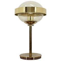 Space Age Style UFO Table Lamp, Kamenicky Senov, 1970s