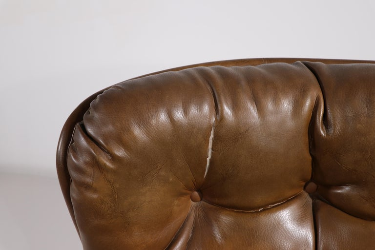 20th Century Space Age Swivel Chair by Charlton after Baughman