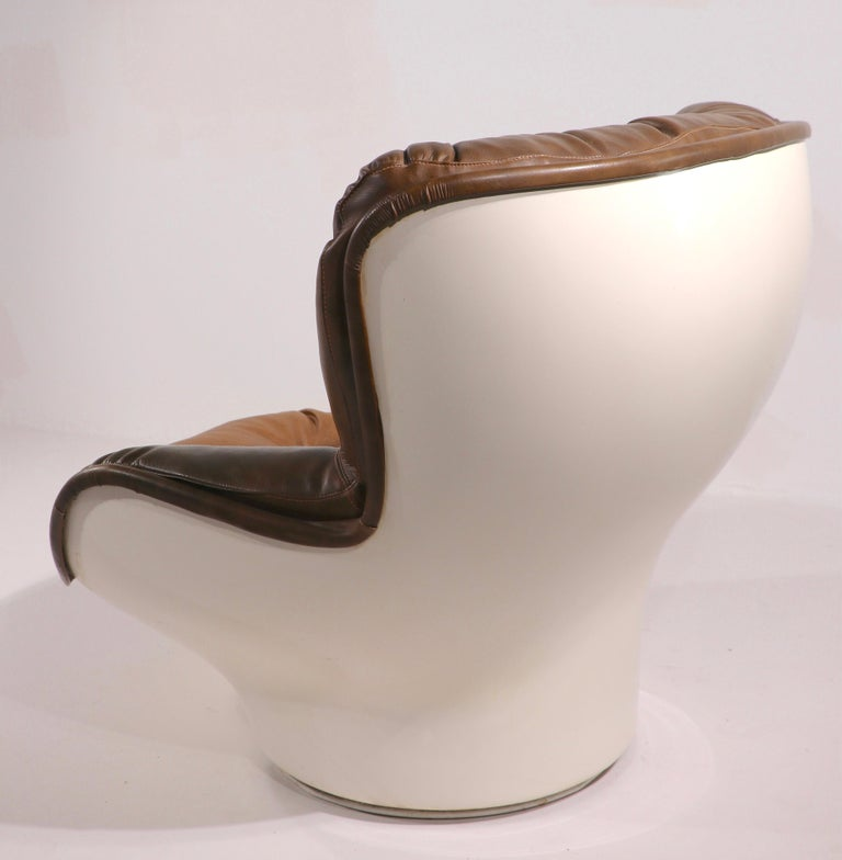 Space Age Swivel Chair by Charlton after Baughman 1