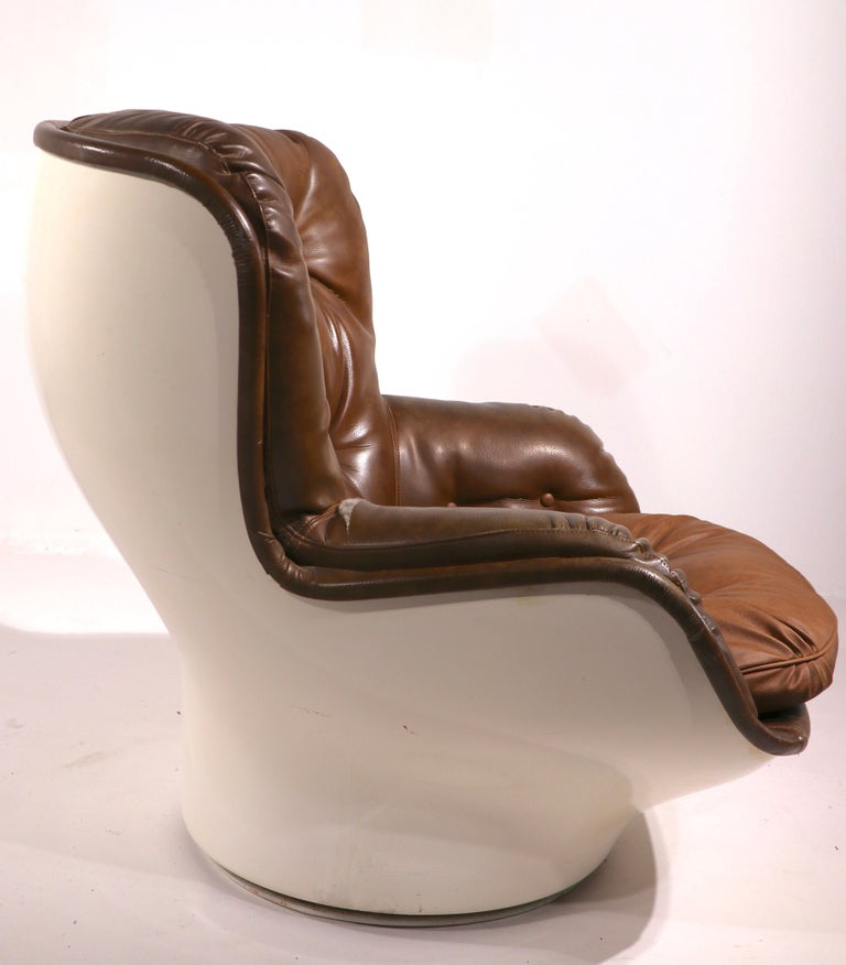 Space Age Swivel Chair by Charlton after Baughman 3