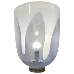 Space Age Table Lamp by Toni Zuccheri for Venini in Murano Glass