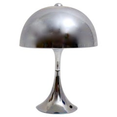 Space Age Vintage Metal Trumpet Table Lamp the Style of Goffedo Reggiani