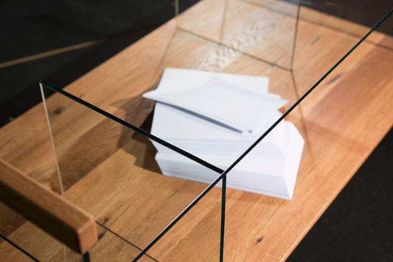 Modern Space Coffee Table by Rectangle Studio For Sale
