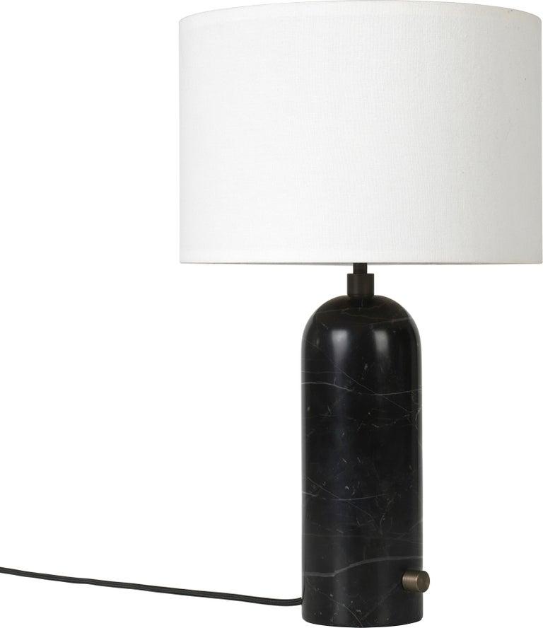 Space Copenhagen 'Gravity' Table Lamp in Blackened Steel for Gubi For Sale 3