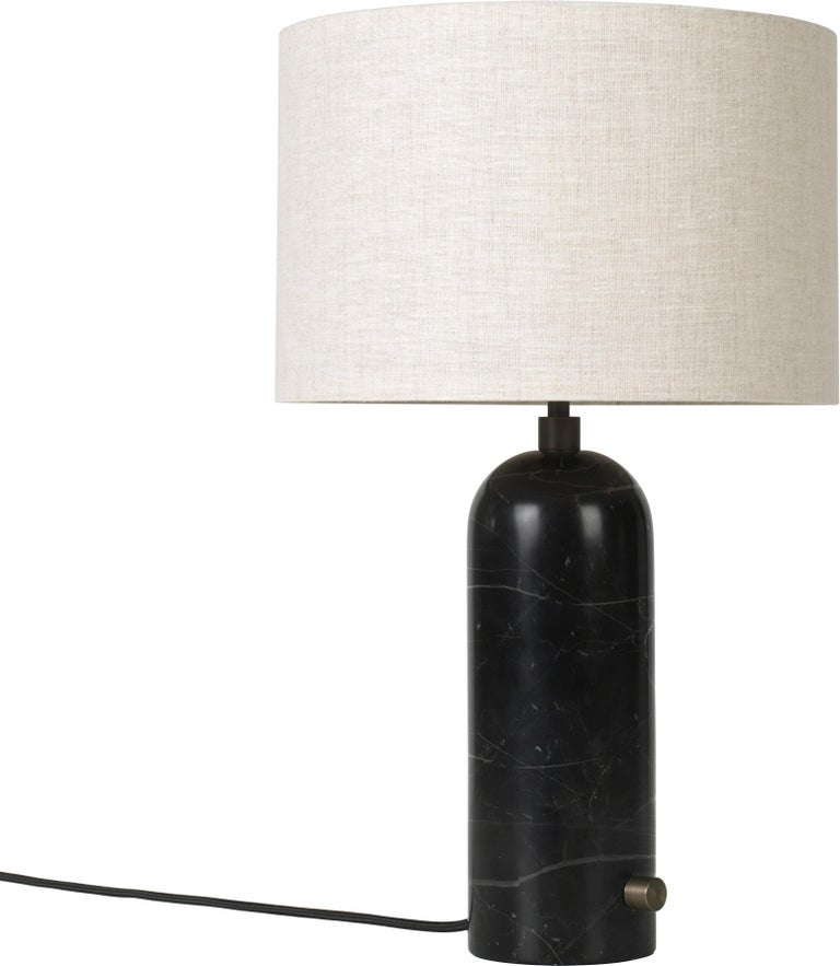 Space Copenhagen 'Gravity' Table Lamp in Blackened Steel for Gubi For Sale 5