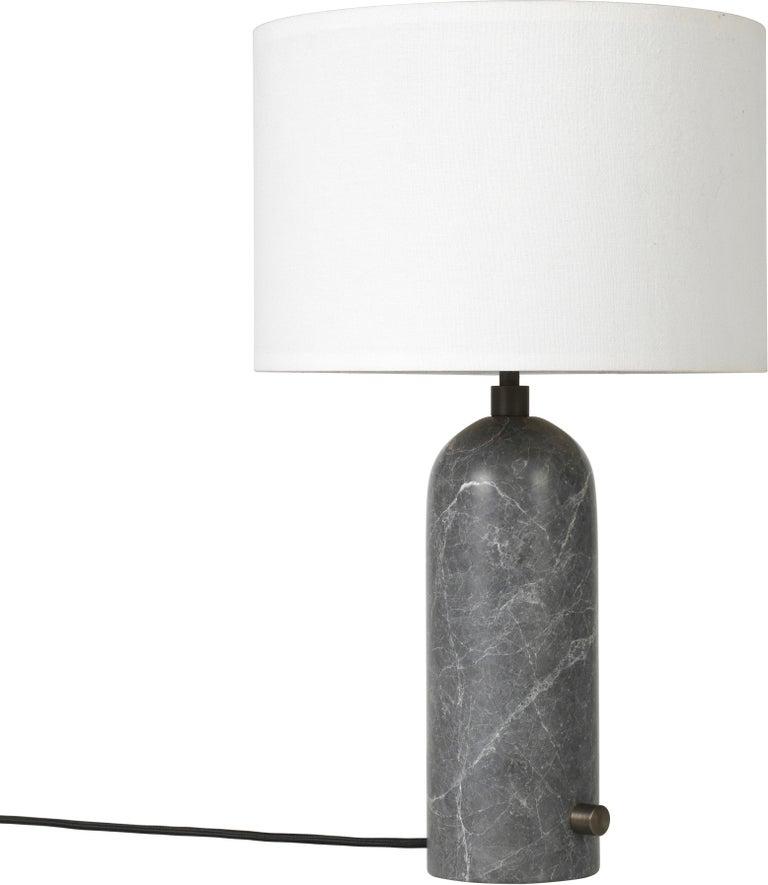 Space Copenhagen 'Gravity' Table Lamp in Blackened Steel for Gubi For Sale 7