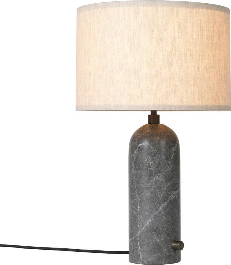Space Copenhagen 'Gravity' Table Lamp in Blackened Steel for Gubi For Sale 8