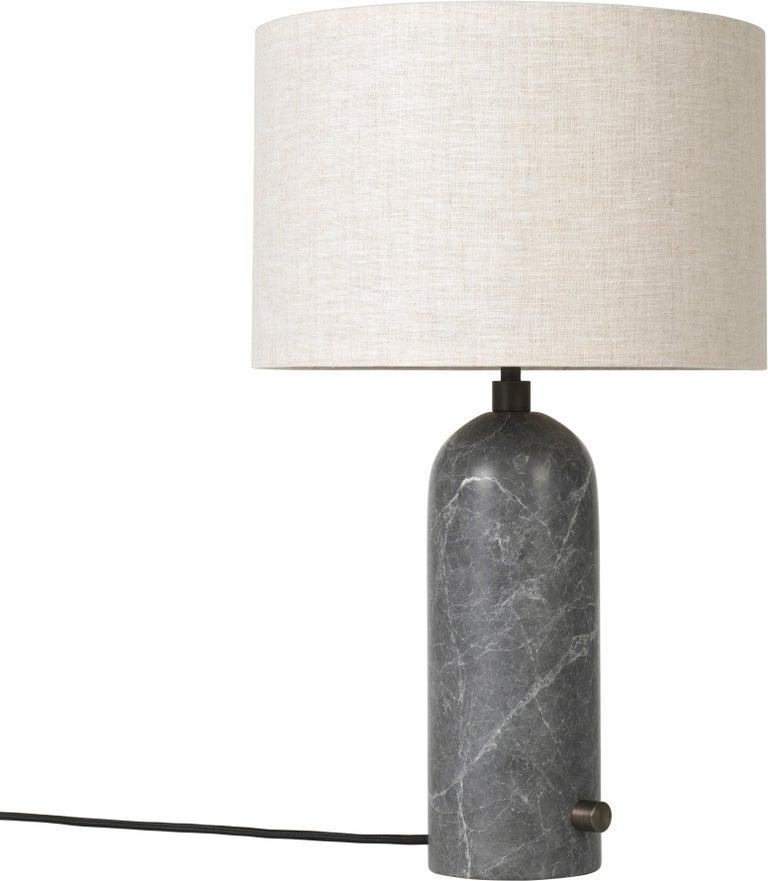 Space Copenhagen 'Gravity' Table Lamp in Blackened Steel for Gubi For Sale 9