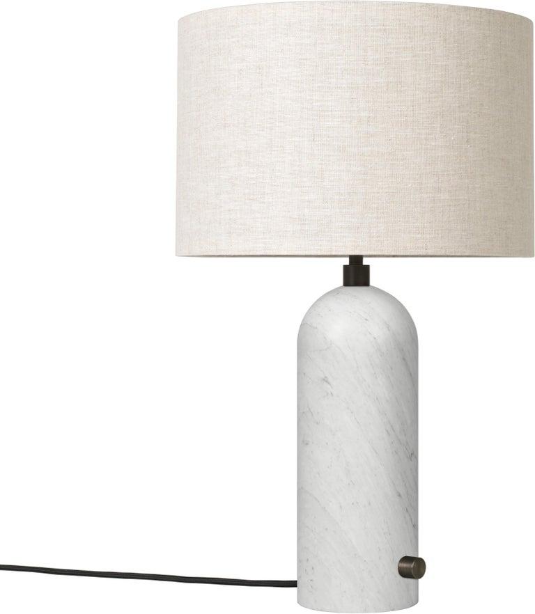 Space Copenhagen 'Gravity' Table Lamp in Blackened Steel for Gubi For Sale 11
