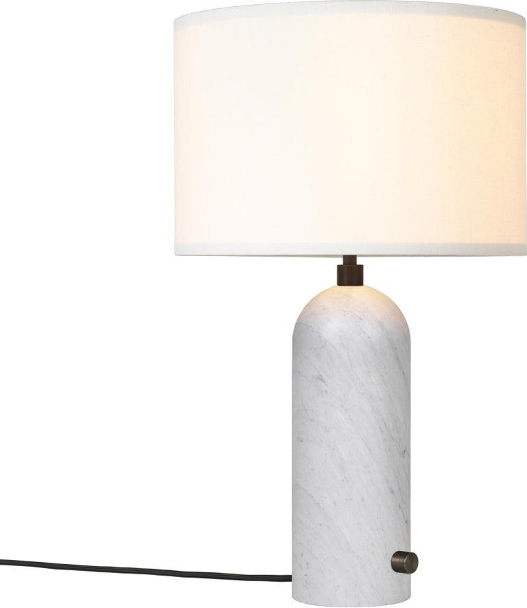 Space Copenhagen 'Gravity' Table Lamp in Blackened Steel for Gubi For Sale 12
