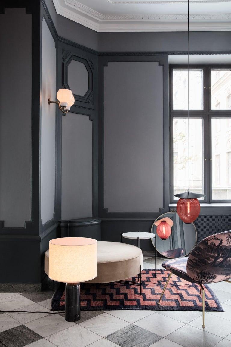 Scandinavian Modern Space Copenhagen 'Gravity' Table Lamp in Blackened Steel for Gubi For Sale