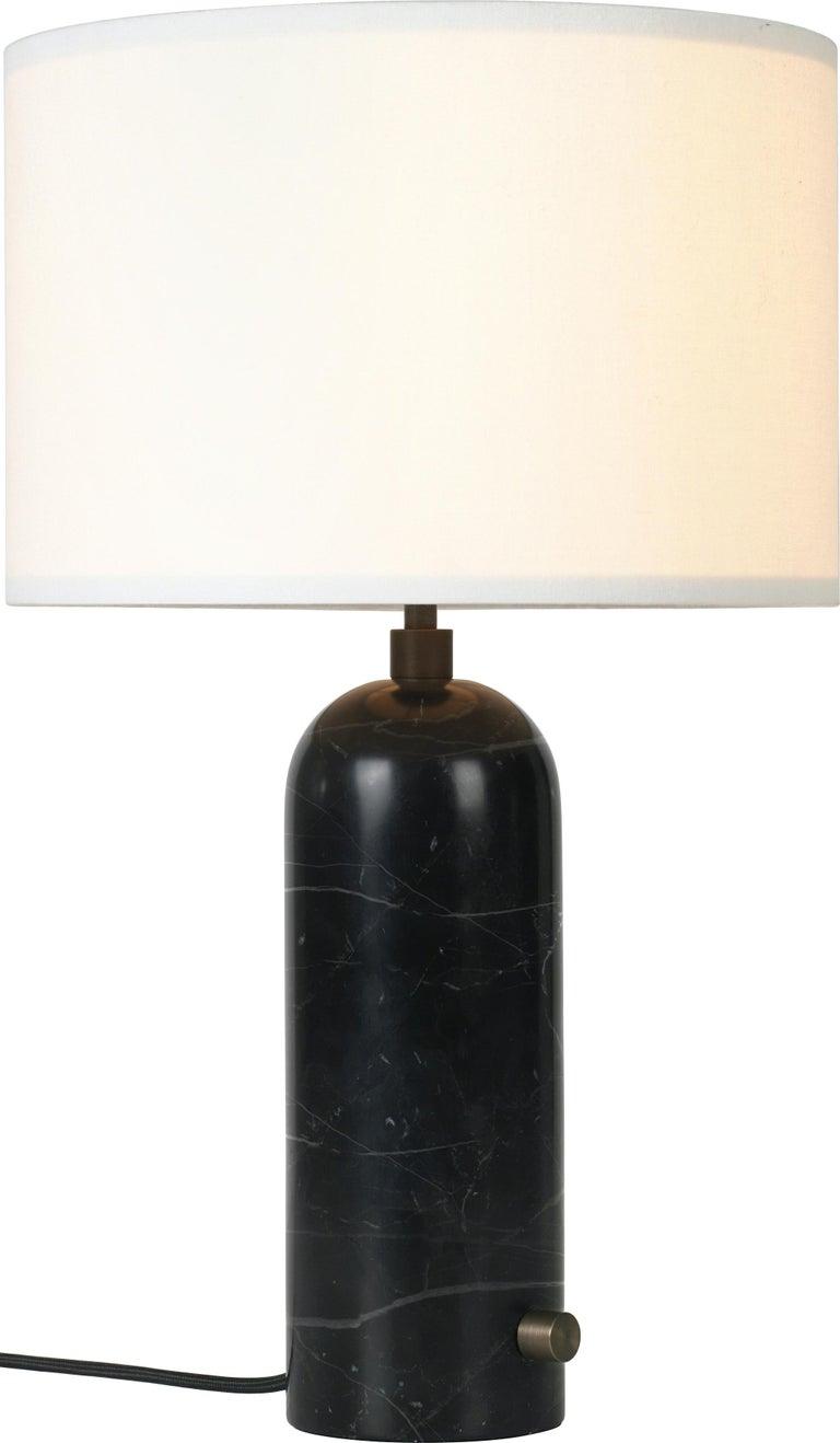 Space Copenhagen 'Gravity' Table Lamp in Blackened Steel for Gubi For Sale 2