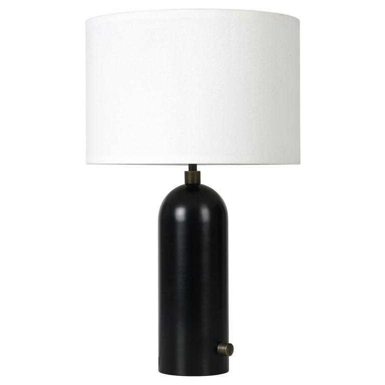 Space Copenhagen 'Gravity' Table Lamp in Blackened Steel for Gubi For Sale