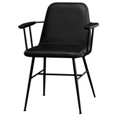 Space Copenhagen Spine Armchair, Metal Base