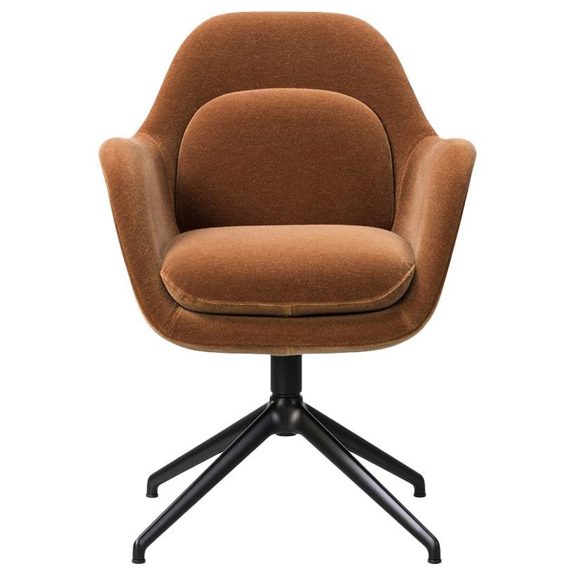 Space Copenhagen Swoon Dining Chair, Swivel Base