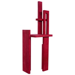 Space Poetry Fuchsia Red Room Divider