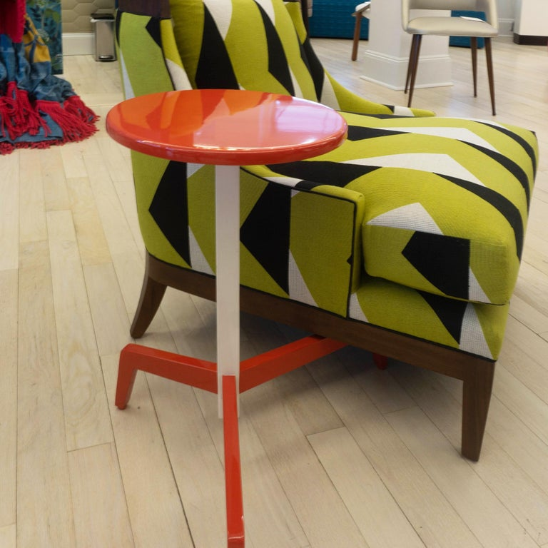 Space Saving Modern Side Table For Sale 3