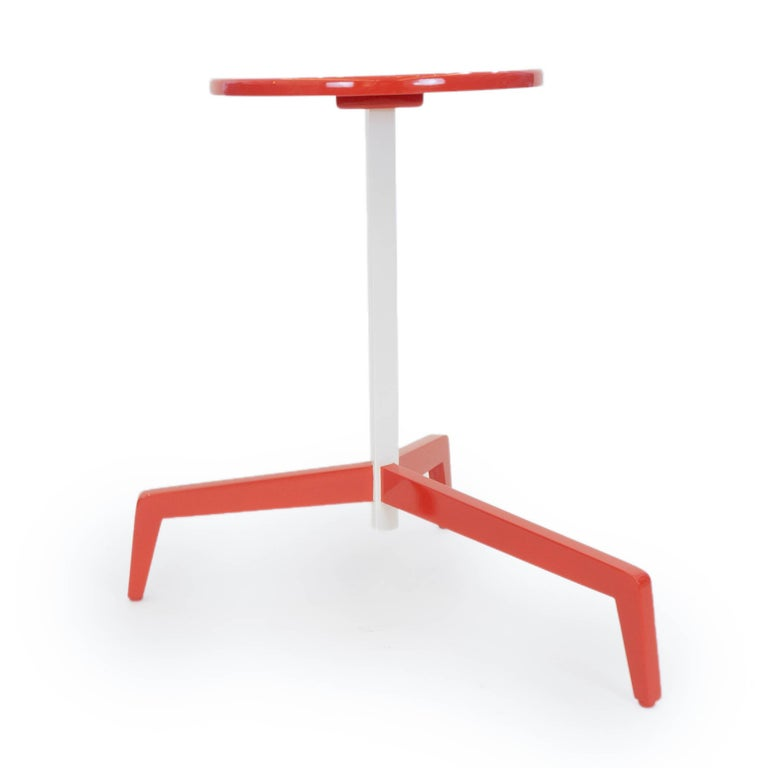 Space Saving Modern Side Table For Sale 2