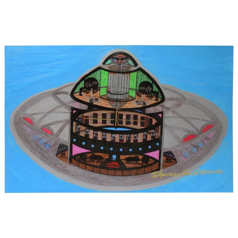Spaceship UFO by Ionel Talpazan For Sale