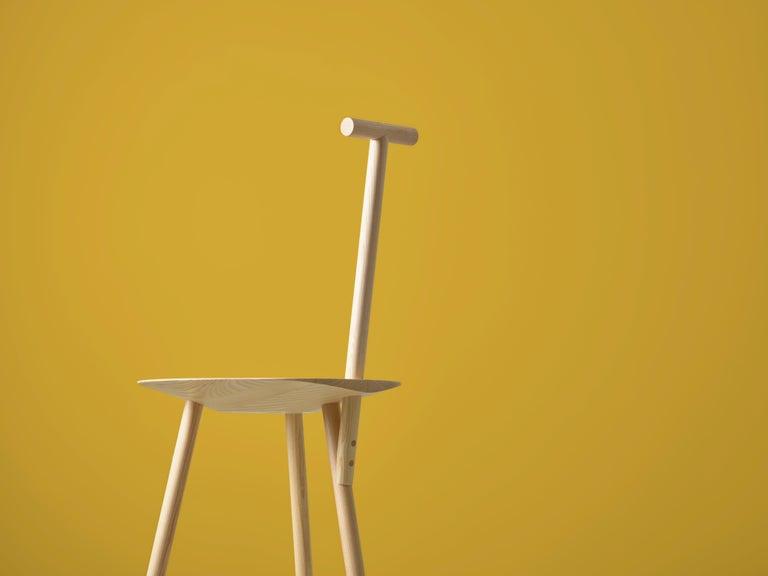 Spade Ashwood Corner Chair by Faye Toogood For Sale 4