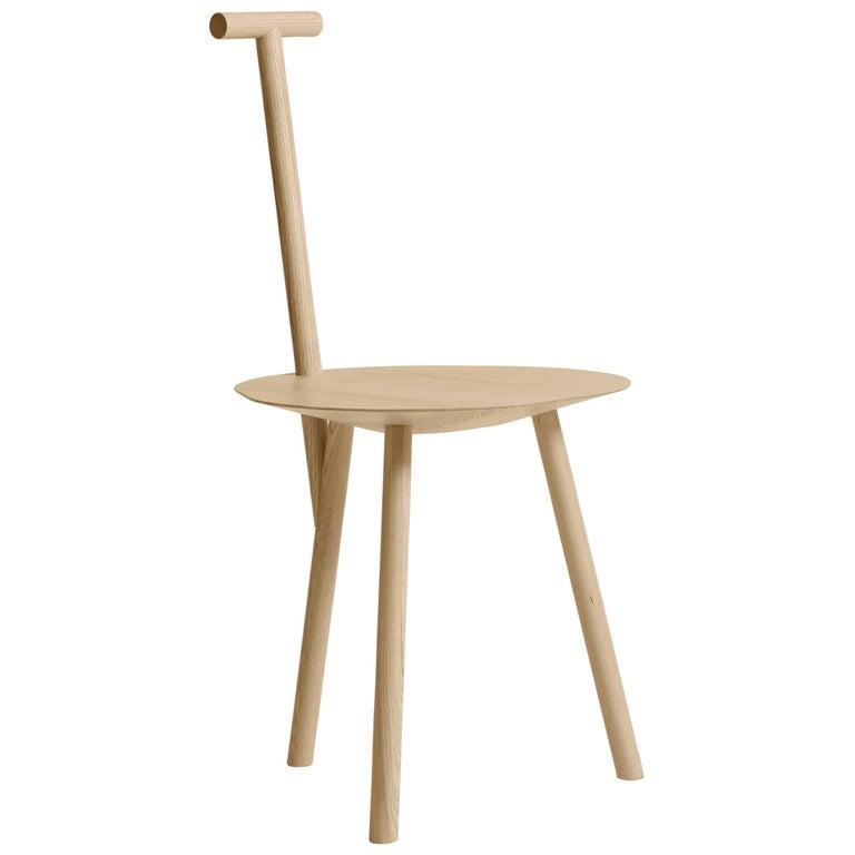 For Sale: Brown (Natural Ash) Spade Ashwood Corner Chair by Faye Toogood
