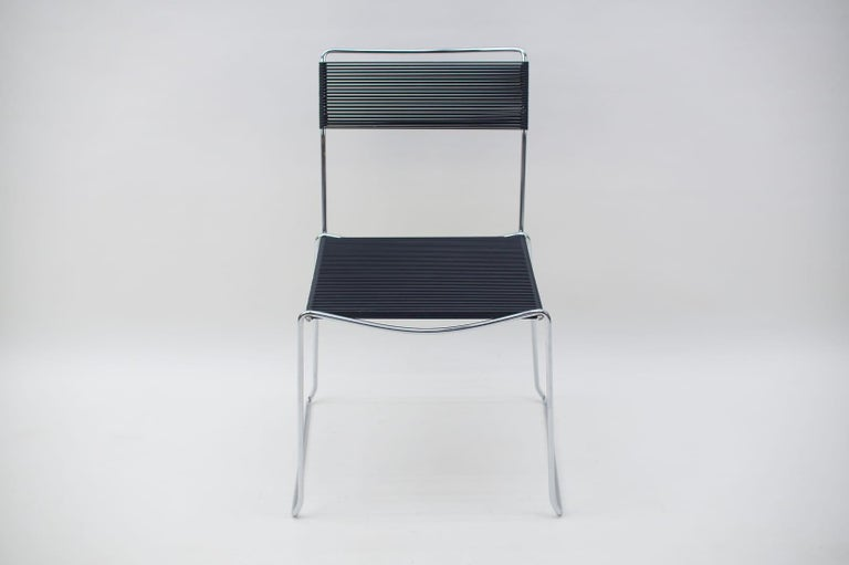 Spaghetti Chairs by Giandomenico Belotti for Alias, 1980s, Set of 4 In Good Condition For Sale In Nürnberg, Bayern