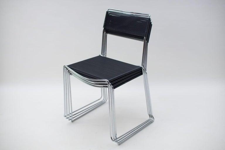 Spaghetti Chairs by Giandomenico Belotti for Alias, 1980s, Set of 4 For Sale 1