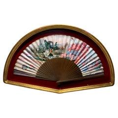 Spaniard Fan Shadow Box