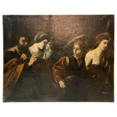 Spanish 17th Century Oil Painting