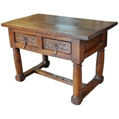 Spanish 17th Century Side Table