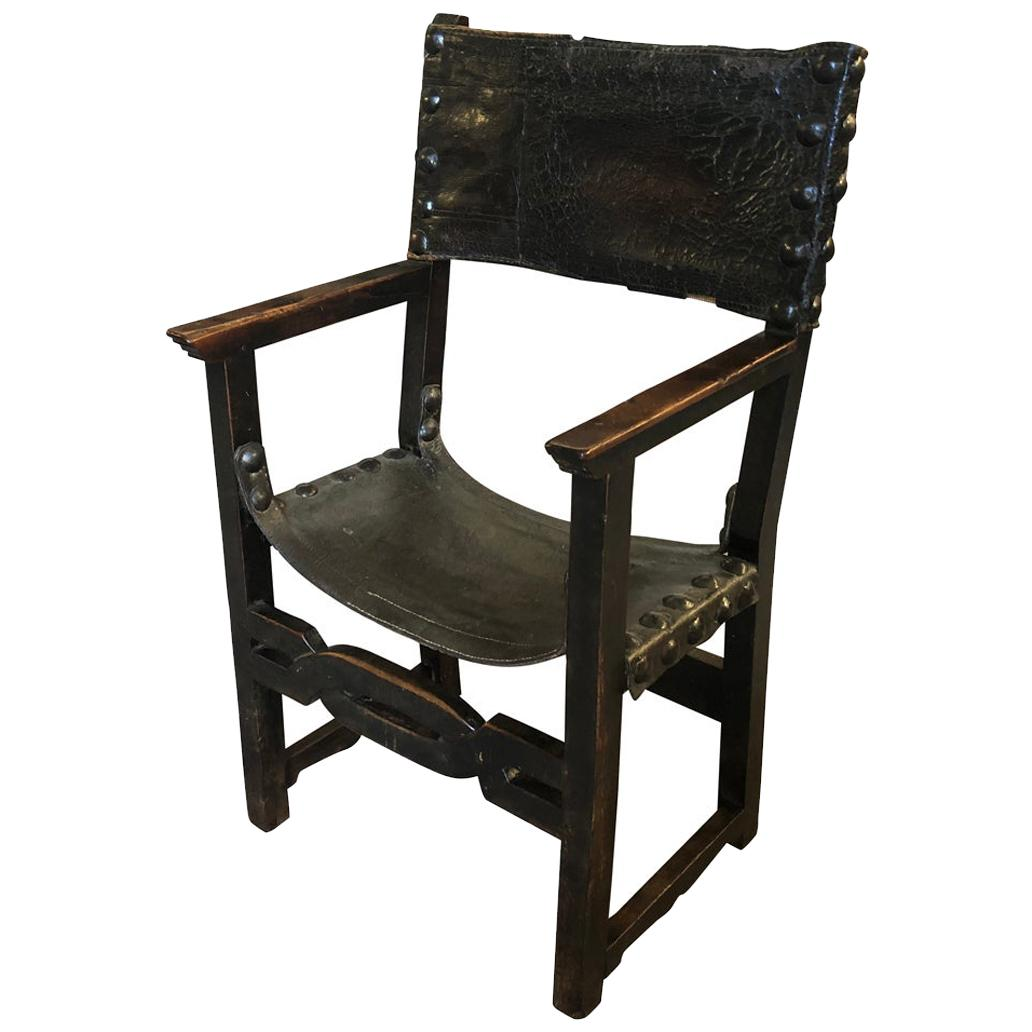 Spanish 18th Century Armchair