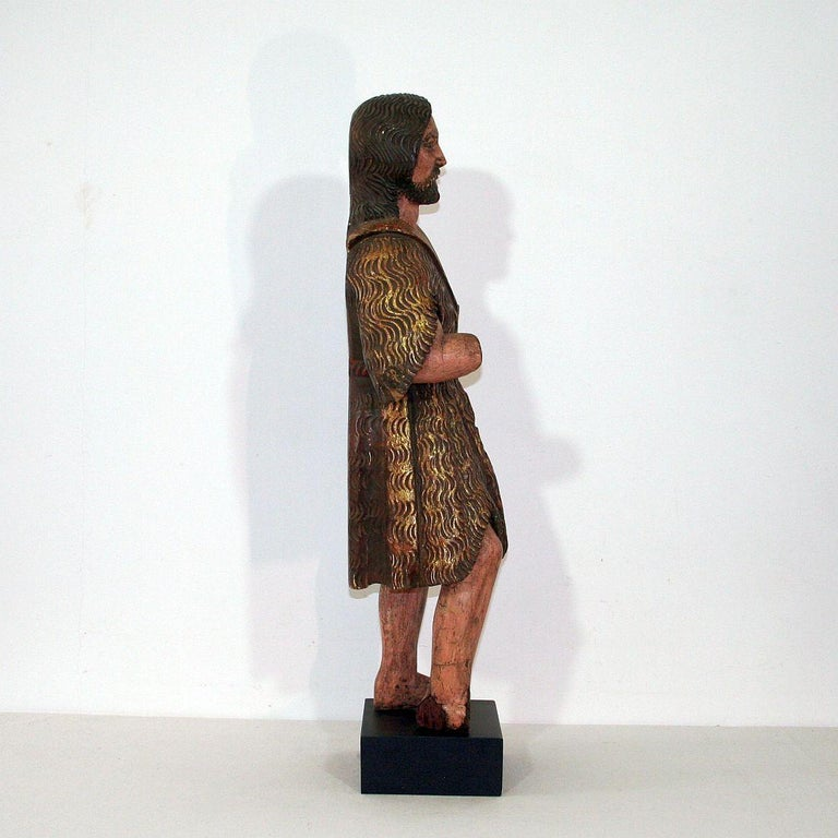Spanish 18th Century Baroque Christ Figure In Good Condition For Sale In Amsterdam, NL